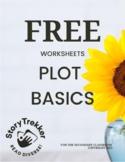 FREE - Plot Basics Activities (Distance Learning)