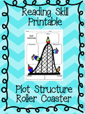 FREE - Plot Structure Roller Coaster worksheet