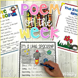 FREE Poem of the Week | 3 Poems + Differentiated Activitie