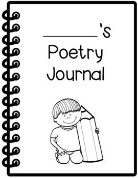 FREE Poetry Journal Writing Covers