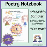 FREE Poetry Notebook Samples