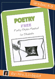 FREE Poetry Styles Handout for Students