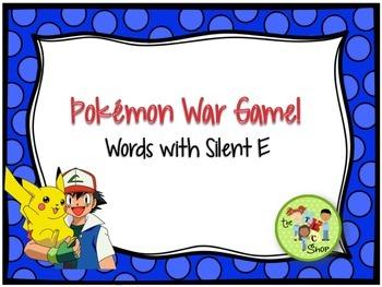 FREE! Pokemon War Game - Silent E Decoding