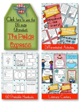 Polar Express ~ My Favorite Part Writing! Christmas FUN FREEBIE!