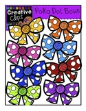 FREE Polka Dot Bows {Creative Clips Digital Clipart}