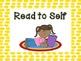 FREE Polka Dot Daily Five Signs