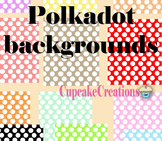 FREE Polka-dots backgrounds