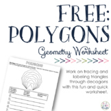 FREE: Polygons Worksheet