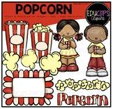 FREE Popcorn Clip Art Bundle {Educlips Clipart}