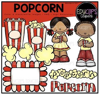 free popcorn clip art bundle educlips clipart by educlips tpt rh teacherspayteachers com popcorn images free clipart popcorn images free clipart