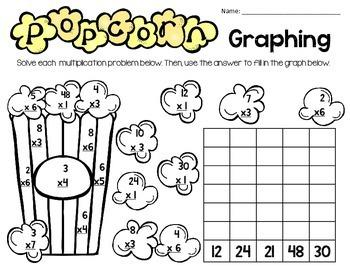 Multiplication Graphing FREEBIE