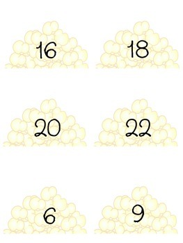 FREE Poppin Multiplication Facts 2 & 3