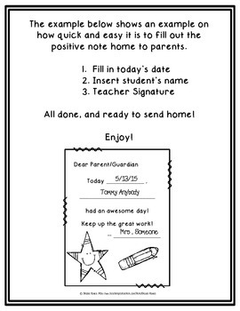{FREE} Positive Note Home