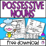 Possessive Nouns FREE