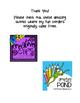 Post Card Writing Activity {Freebie}