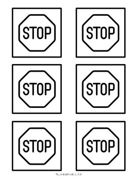 photo about Printable Stop Sign called Printable Article-It Observe Template -- Reading through End Signs or symptoms