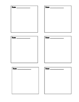 free post it note template by rencharee teachers pay. Black Bedroom Furniture Sets. Home Design Ideas