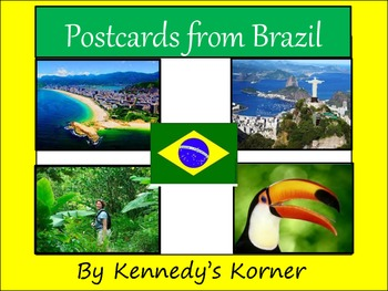 FREE Postcard Template for Brazil