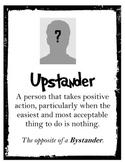 {FREE} Poster Set: Upstander, Bystander, Perpetrator, Victim