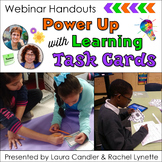 FREE Power Up Learning With Task Cards Handouts