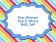 FREE Pre-Primer through Grade Three Word Wall Set