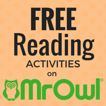FREE Pre-School Reading Activities on MrOwl