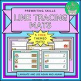 FREE Pre-Writing Skills Themed Line Tracing Mats