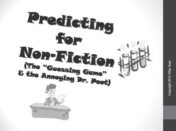 Predicting for Non Fiction Text Reading Strategy Activity