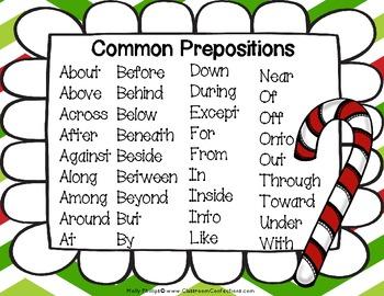 Prepositional Phrases