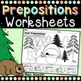 Prepositions Worksheets - Distance Learning