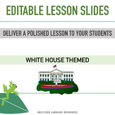 FREE! President's Day Theme: Editable Lesson Slides to Pro