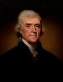 FREE - Presidents' Day Printable Clip Art Mini Poster | Thomas Jefferson