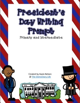 FREE President's Day Writing Prompt