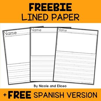 Free Lined Paper Template from ecdn.teacherspayteachers.com