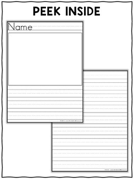 photo relating to Free Printable Lined Writing Paper identified as Cost-free Major Included Creating Paper
