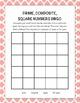 Prime, Composite, and Square Number Bingo