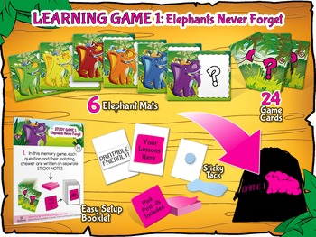 FREE Print & Play Matching Game - Reusable for ALL Subjects