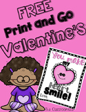 FREE Print and Go Valentines