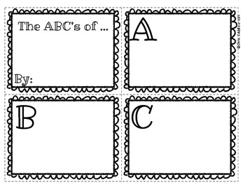 image regarding Abc Book Printable named Absolutely free Printable ABC E book