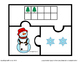 FREE Printable Christmas Counting Puzzles for PreK and Kindergarten