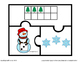 FREE Printable Christmas Counting Puzzles for PreK and Kin