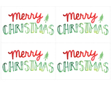 FREE Printable Christmas and Holiday Cards!