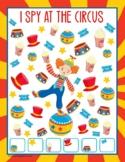 FREE Printable Circus I Spy