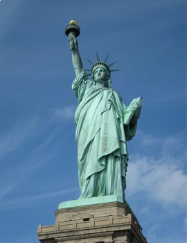 FREE - Printable Clip Art Mini Poster | Statue of Liberty