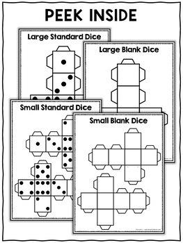 Printable Dice Templates
