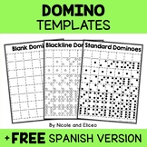 Math Centers - Printable Domino Templates