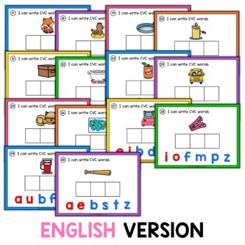 CVC Digital Word Work for Google Classroom™