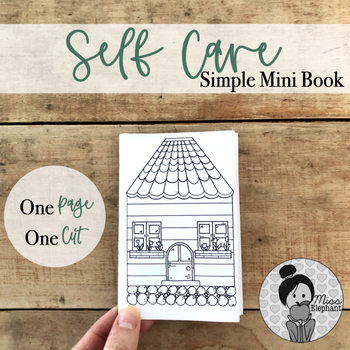 FREE Printable Self Care Activity Worksheet