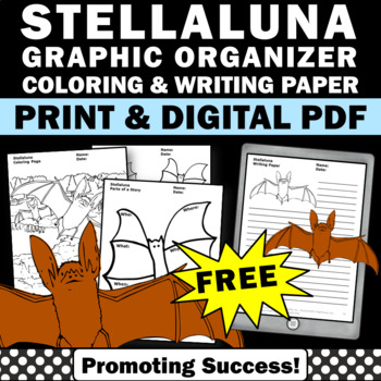 free reading Stellaluna Book graphic organizer