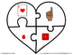 FREE Printable Valentine's Day Heart Counting Puzzles (Numbers 1-10)